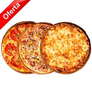 Trio Pizza - 58.90 Lei